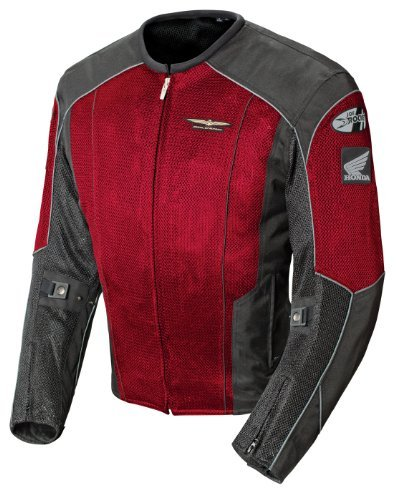 Sullivans Honda Goldwing Men's Skyline 2.0 Jacket in Wine/Black - 2X-Large