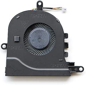 NBFAN Laptop Replacement Cooler Fan for Dell Inspiron 15-3580 3581 17-3780 17-3793 CPU Cooling Fan CN-0FX0M0 FCN DFS1503055P0T FK3A DC28000K9F0