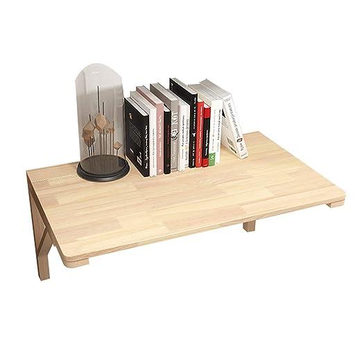 mesa plegable HYDT Mesa para Colgar en la Pared, Mesa de Estudio ...