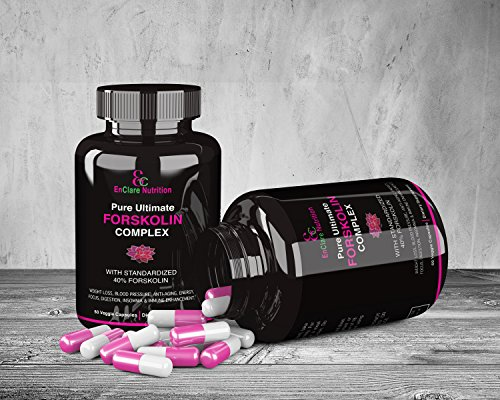 ENCLARE - PURE ULTIMATE FORSKOLIN COMPLEX, 40% Forskolin Extract For Weight Loss Supplements, Appetite Suppressant, Fat Burner, Diet Pills