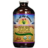 Lily Of The Desert - 100% Organic Whole Leaf Aloe Vera Juice - 32 oz.