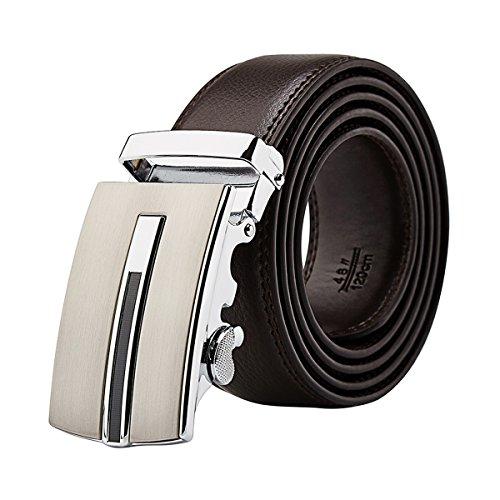 Dress Leather Ratchet Sliding Buckle product image