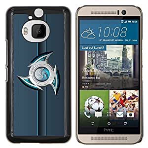 "For HTC One M9+ M9 Plus , S-type abstracto"" - Arte & diseño plástico duro Fundas Cover Cubre Hard Case Cover"