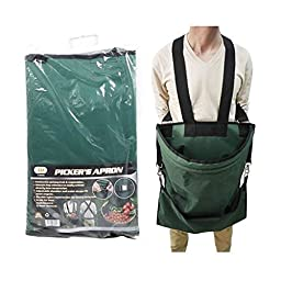 IIT Tools Large Pouch Fruit/Vegetable Durable Nylon Harvest Picking Apron