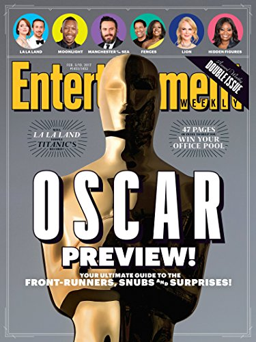 Entertainment Weekly February 3/10, 2017 Oscar Preview! Your