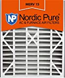 20x25x5 Honeywell Replacement MERV 15 furnace Air Filter Qty 4