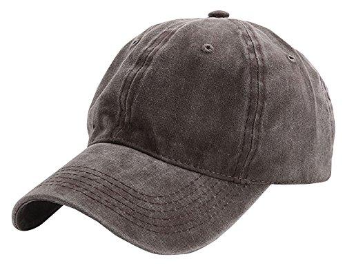 Old Sombrero Hombre Marrón Cap Ajustable Protección para Visera con School Mujer Sol Béisbol del AIEOE Transpirable UqWndOxvv