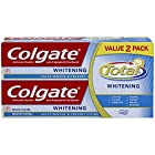 Colgate Total Whitening Toothpaste Twin Pack, 6 Ounce