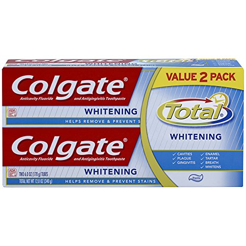 Colgate Total Whitening Toothpaste Ounce product image