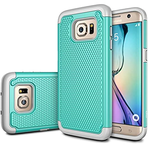 Galaxy S7 Edge Case, E LV Full Body Hybrid Armor Protection Defender Case Cover - Dual Layer Case Cover for Samsung Sales
