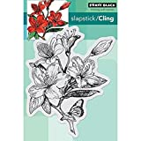 Penny Black Cling Rubber Stamp 5-inch x 7.5-inch Sheet-Jubilant by Penny Black 40