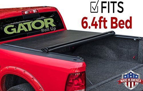 Tonneau Fold Truck Cover (Gator ETX Soft Roll Up Truck Bed Tonneau Cover | 53205 | fits 09-18, 2019 Classic Dodge Ram 1500, 6.4' Bed | Made in the USA)