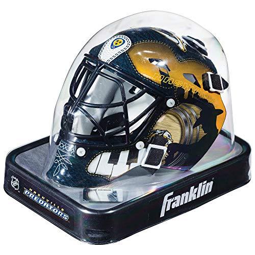 - Franklin Sports NHL League Logo Nashville Predators Mini Goalie Mask