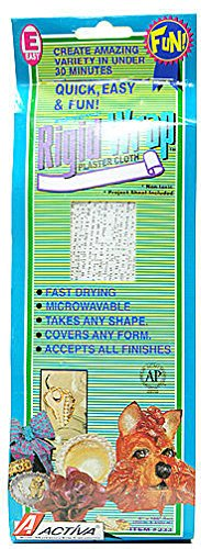 (Activa Products Rigid Wrap Plaster Cloth (8 In. x 180 In.) 1 pcs sku# 1841157MA)