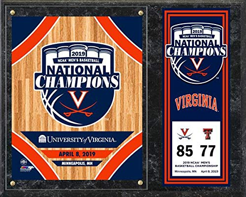 Virginia Cavaliers 2019 NCAA Basketball Championship Photo Plaque (Size: 12