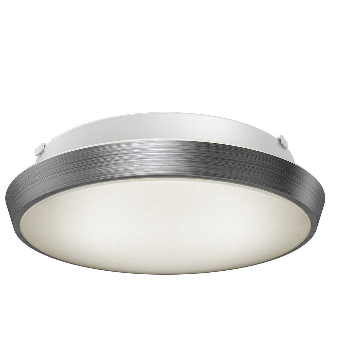 Artika skyraker ceiling led light silver dimmable 25watt ip44 warm white aluminium 25 w energy class a