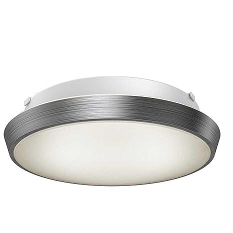 Artika Skyraker Ceiling LED Light Silver Dimmable 25Watt IP44 Warm White,  Aluminium, 25 W