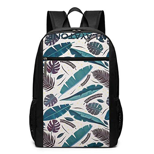 Cilantro Vintage - Multifunctional Backpack Vintage Colored Tropical Cilantro School Backpacks Laptop Bag Business Bag Suitable