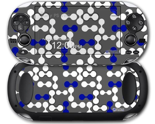 Amazon.com: Locknodes 04 Royal Blue - Decal Style Skin fits Sony PS Vita: Video Games