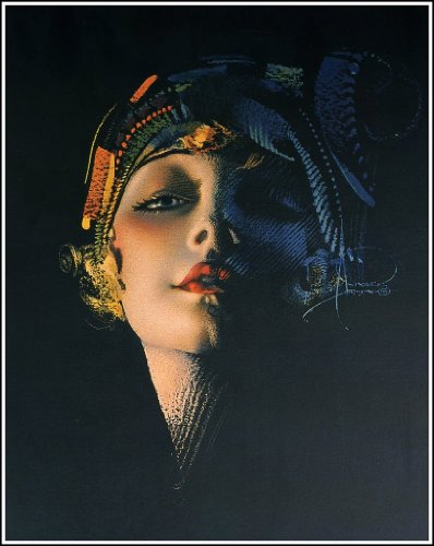 Rolf Armstrong - Portrait Art and Illustrations - 40 Trading Cards Set with Binder
