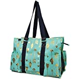 Gold Arrow NGIL Large Zippered Caddy Organizer Tote Bag
