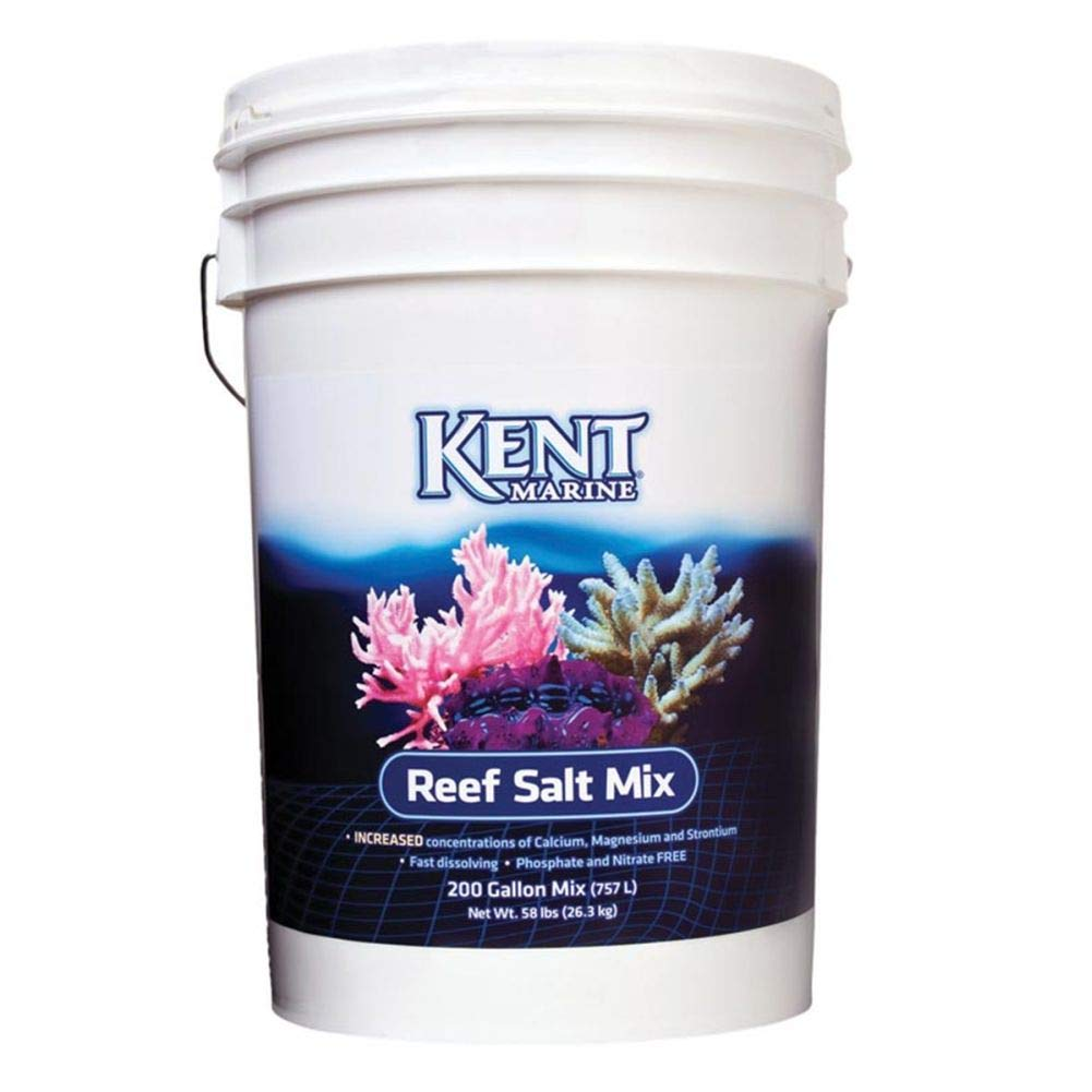 26.3 Kg Marine Aquarium Salt Pet's House KENT MARINE AQUARIUM REEF SALT MINERALS VITAMINS FISH TANK ENHANCER TREATMENT