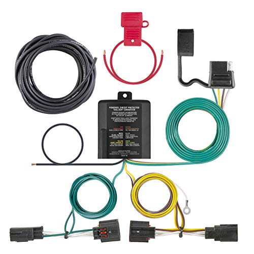 (CURT 56331 Vehicle-Side Custom 4-Pin Trailer Wiring Harness for Select Chrysler Town and Country, Dodge Caravan, Grand)