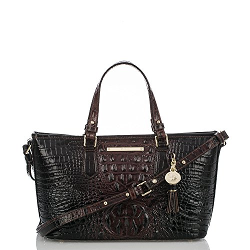Brahmin Melbourne Collection Mini Asher Croco-Embossed Tote (Embossed Mini Croco)
