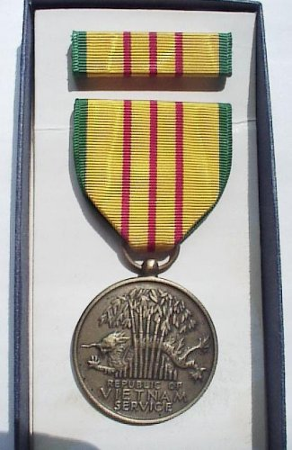 Vietnam Service Medal and Ribbon