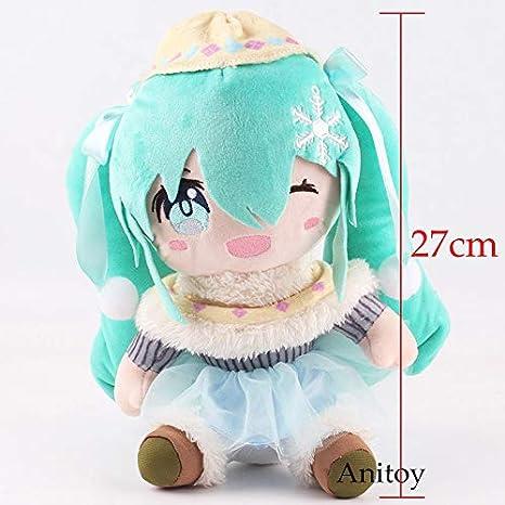Amazon.com: 27-30cm (10.6-11.8 inch) 2 Style - Hatsune Miku ...