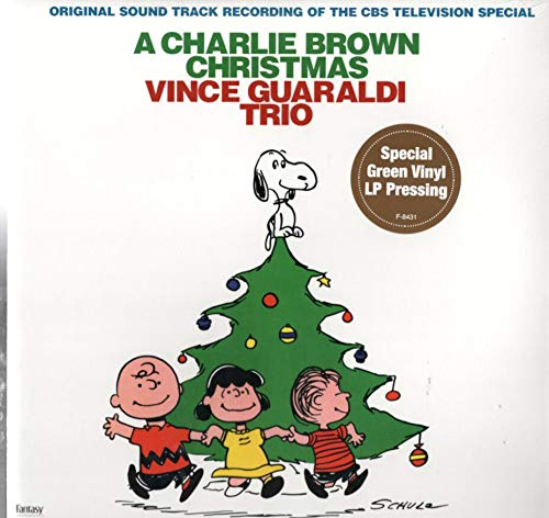 Vince Guaraldi Trio: A Charlie Brown Christmas LP M USA Fantasy