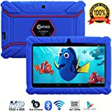 "Contixo Kids Tablet K2 | 7"" Display Android 6.0 Bluetooth WiFi Camera Parental Control for Children Infant Toddlers w/ Free Tablet Case (Dark Blue)"