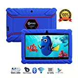 Contixo Kids Tablet K2 | 7'' Display Android 6.0 Bluetooth WiFi Camera Parental Control for Children Infant Toddlers w/ Free Tablet Case (Dark Blue)