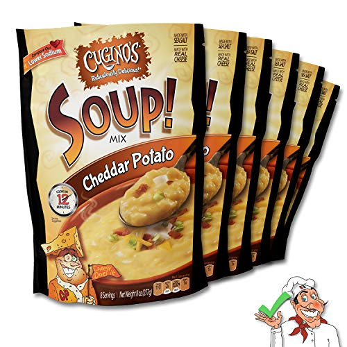 Cugino's Cheddar Potato Soup Mix, 6-Pack by Cugino's Gourmet Foods