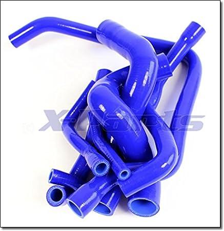 Wasserschlauch Set Silikonschlauch K/ühlwasserkreislauf BLAU NEU 1010819