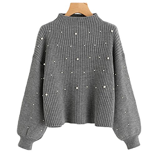 Beaded Cashmere Sweater - 6