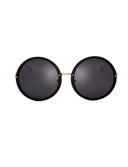 Nuevas gafas de sol redondas grandes Gafas de sol polarizadas tendencia femenina polar Gafas de sol