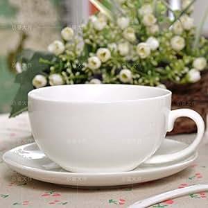 WJIANLL Taza de cerámica, taza de café, taza de avena, gran capacidad taza