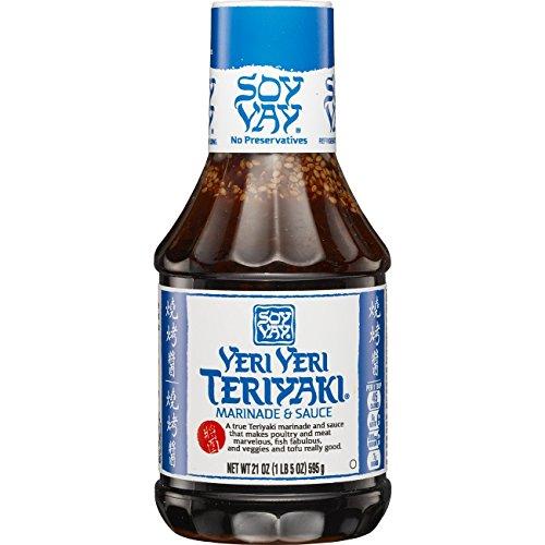 Soy Vay Marinade & Sauce, Veri Veri Teriyaki, 21 Ounces
