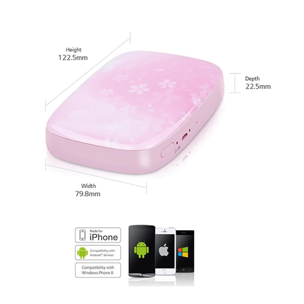 SFXYJ Mobile Phone Photo Printer Mini Portable Pocket Color Wireless Home Small Photo Print,A by SFXYJ (Image #2)