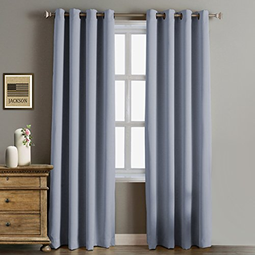 Living Room Curtains amazon living room curtains : Grommet Top Living Room Curtain: Amazon.com