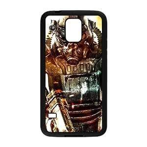 Fallout caso Y7P86B4GS funda Samsung Galaxy S5 funda BVCQ6G negro