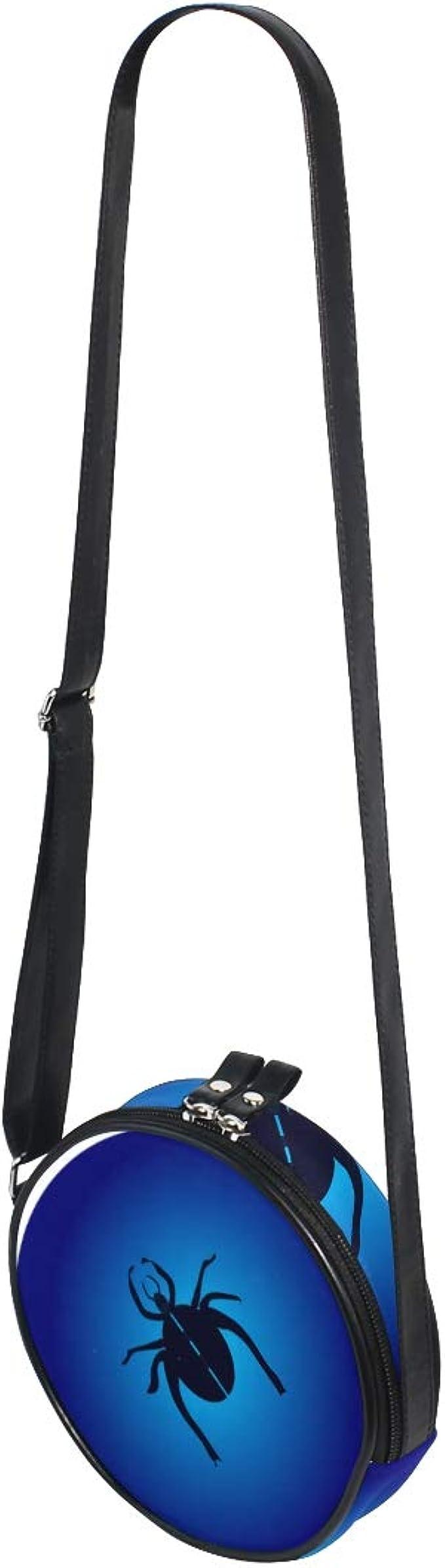 KEAKIA Spider Webs Round Crossbody Bag Shoulder Sling Bag Handbag Purse Satchel Shoulder Bag for Kids Women