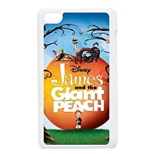 iPod Touch 4 Phone Case White James and the Giant Peach BXF292755
