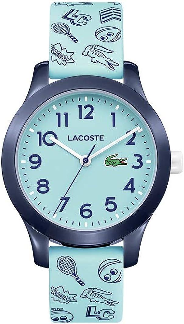 Lacoste 2030013 - Reloj de cuarzo con correa de goma, color azul