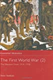 The First World War (2), Peter Simkins, 0415968429