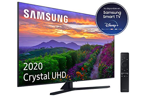 Samsung Crystal UHD 2020 50TU8505 – Smart TV de 50″ con Resolución 4K, Crystal Display, Dual LED, HDR 10+, Procesador 4K, Sonido Inteligente, One Remote Control y Asistentes de Voz Integrados (Alexa)
