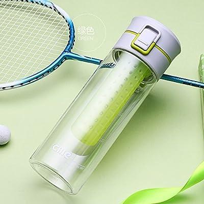 2017NEUF 650ml My Bouteille d'eau Sport respectueux de l'environnement en plastique My Bouteille d'eau avec infuseur à thé d'escalade gratuit BPA
