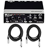 Steinberg UR22 MKII USB Audio Interface (2 in/2 out) with MIDI, D-PRE's and Cubase AI w/ 2 XLR Cables