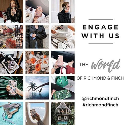 Amazon Com Richmond Finch Black Marble Silver Details